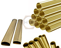 Brass tube for agriculture equipments